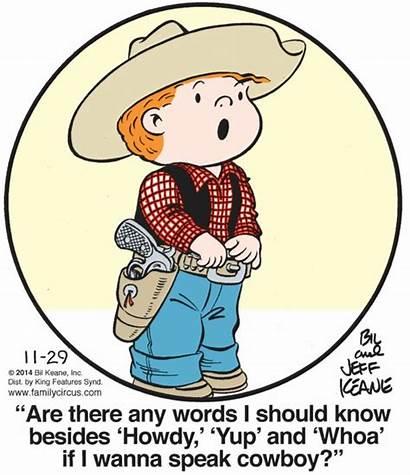 Circus Cartoons Circle Cartoon Cowboy Comics Humor