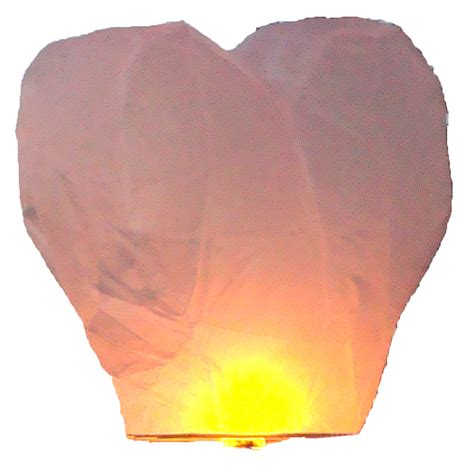 Lanterne Volanti Cuore Lanterne Volanti Cuore Bianco 3g