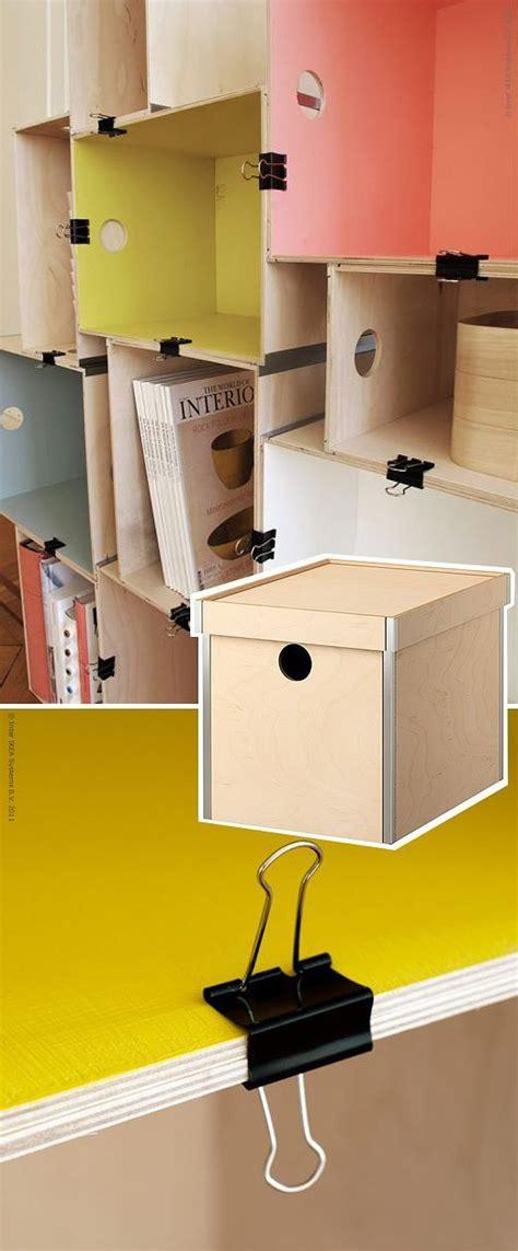 Les 25 Meilleures Idées Concernant Meuble Casier Ikea Sur