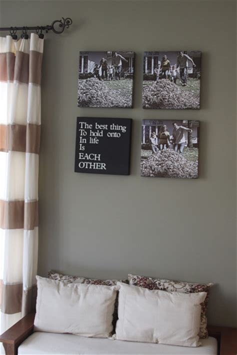 photo sequence canvas wall art  spotted pony