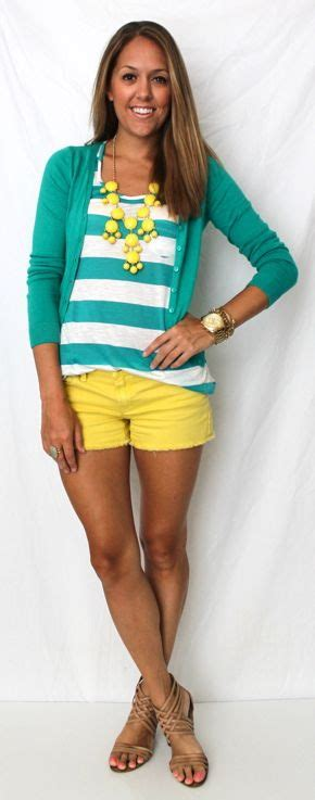 Mustard Yellow Shorts Outfit