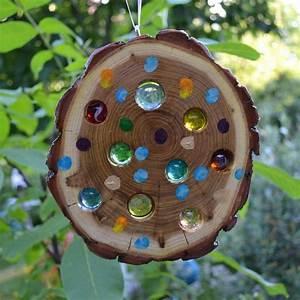 Basteln Mit Baumscheiben : pin von yvonne lenzen auf m bel und mehr basteln mit ~ Watch28wear.com Haus und Dekorationen