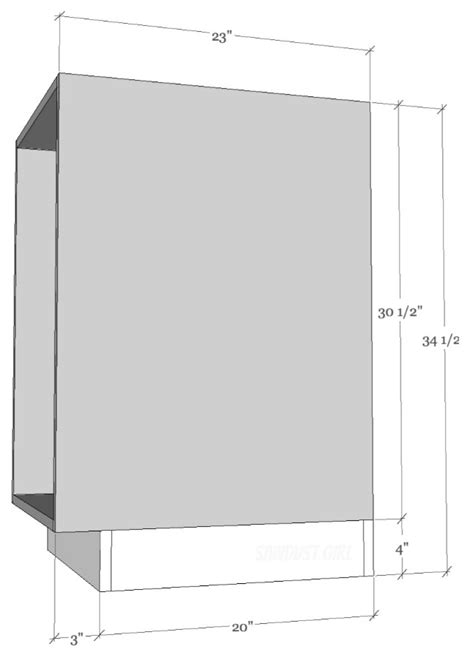 kitchen cabinet toe kick height cabinet and built in building basics sawdust 174