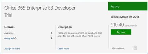 Office 365 Portal Trial by Introducing Microsoft Office 365 Developer Program