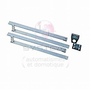 Montage Porte De Garage : kit 2 bras t lescopiques pour moteur spin en montage ~ Dailycaller-alerts.com Idées de Décoration