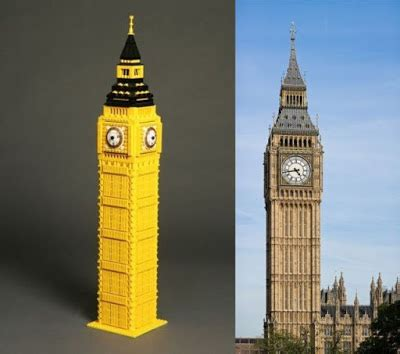 35 Famous Lego Monuments And Buildings  Damn Cool Pictures