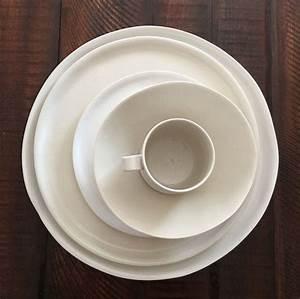 Weisses Porzellan Geschirr : handgefertigte porzellan geschirr set wei e von ~ Buech-reservation.com Haus und Dekorationen