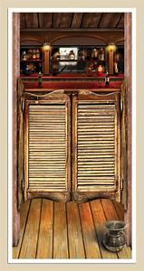 Cheap 5' Saloon Door Cover at Go4Costumes com
