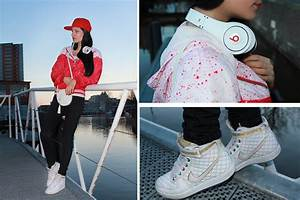 Mieze Tv - Nike Jacket, Nike Shoes, Zara Pants, Beats ...