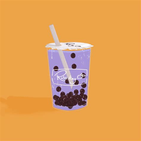 Augustoalgusto offer daily download for free, fast and easy. Taro bubble tea illustration | Tea illustration, Bubble ...