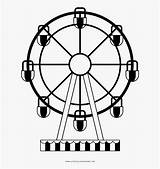 Wheel Drawing Ferris Eye Coloring London Clipartkey sketch template