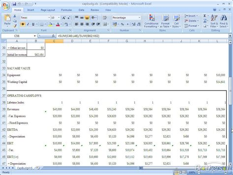 capital budgeting analysis capital