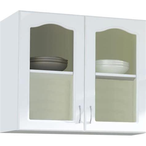 meubles de cuisine haut meuble haut cuisine vitree achat vente pas cher