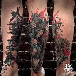 Tatuaje Realismo de Santi H en Ink Sweet Tattoo