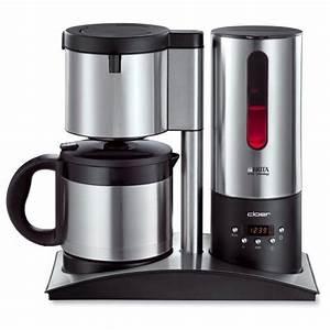 Kaffeemaschine Timer Thermoskanne : cloer 5749 kaffeeautomat mit isolierkanne test ~ Watch28wear.com Haus und Dekorationen