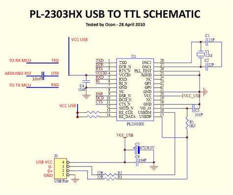 membuat kabel usb to ttl