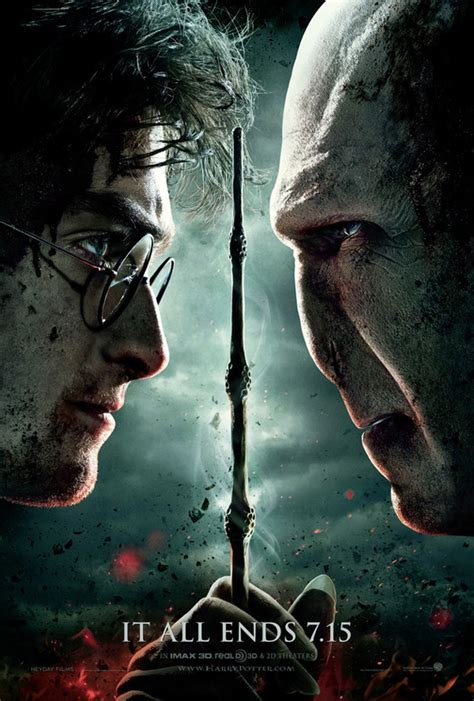 harry potter   deathly hallows part  poster