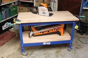 Fabriquer Un établi : etabli kreg fabriquer un plateau de travail ~ Melissatoandfro.com Idées de Décoration