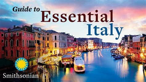 guide  essential italy  great courses