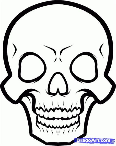 draw  skeleton face step  step skulls pop