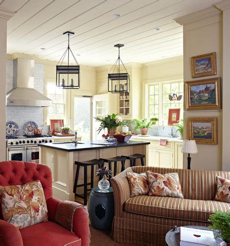 Family Lake Home Vibrant Color by Homes Interior House With Vibrant Colors And