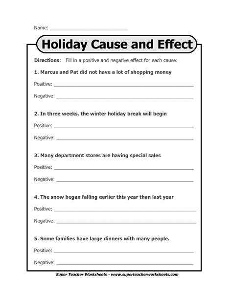 14 Best Images Of Cause And Effect Printable Worksheets  Cause And Effect Worksheets Elementary