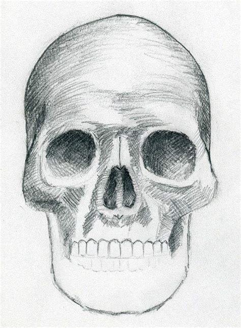 draw skulls    easy