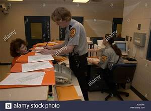 Booking process in jail at Sheriff's Office. Everyone that ...