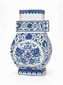 Grand Vase Blanc : grand vase en porcelaine bleu blanc fanghu chine dynastie qing marque a six caracteres en ~ Preciouscoupons.com Idées de Décoration