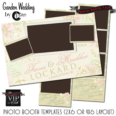 wedding photo booth template garden wedding photo booth talk