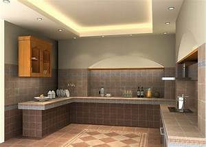Ceiling design ideas for small kitchen 15 designs for Modern false ceiling design for kitchen