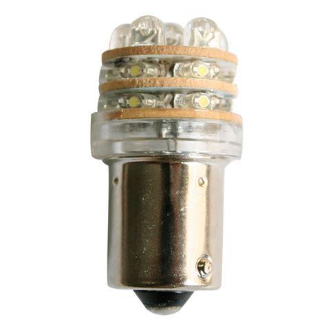 bulb 12v led t18 ba15s cool white 18 leds