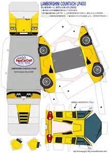 lego lamborghini murcielago papercraft de autos deportivos taringa