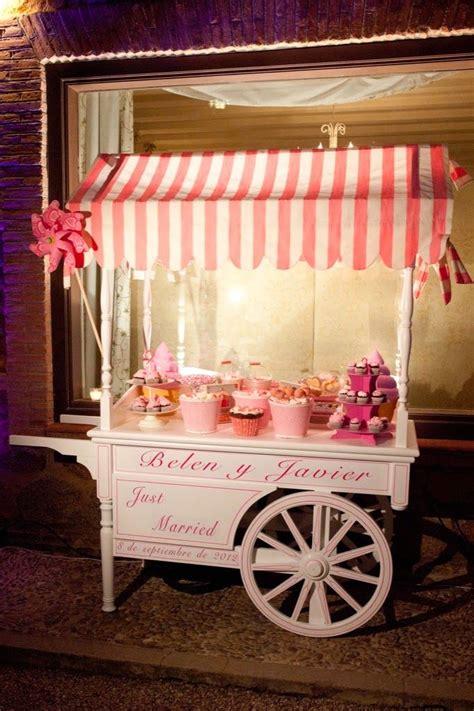 como montar la candy bar de tu boda candy bar carro