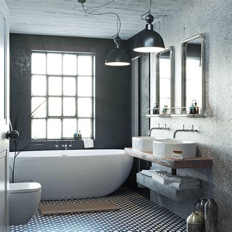 bathroom ideas soft industrial bathrooms victoriaplumcom