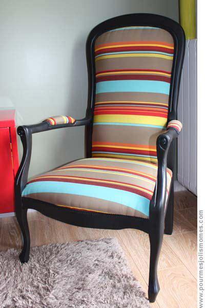 les 25 meilleures id 233 es de la cat 233 gorie fauteuil voltaire sur retapisser un fauteuil