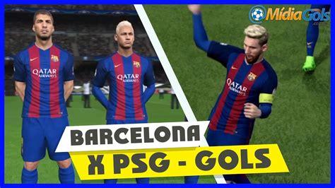 Barcelona X Psg