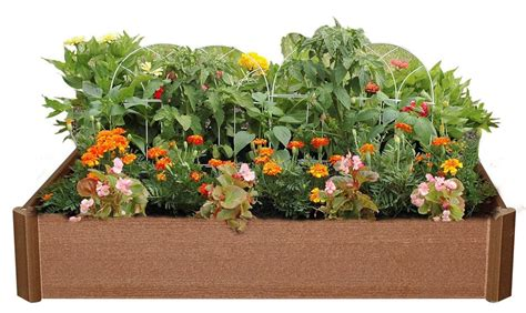 greenland gardener raised bed garden kit greenland gardener 6 inch raised bed garden kit only 22