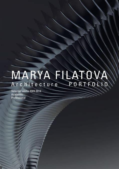 architecture portfolio  marya filatova issuu