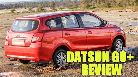 Nissan Datsun Go Plus Car User Reviews In India