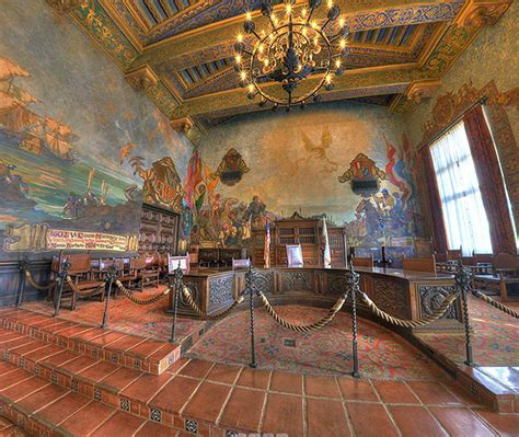santa barbara courthouse mural room santa barbara county courthouse mural room 360 degree