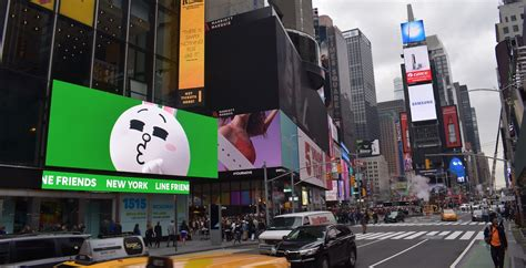 Projects: Line Friends Tops New Times Square Store With