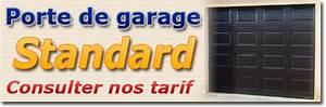 porte de garage sectionnelle standard et sur mesure a prix With porte de garage keritek