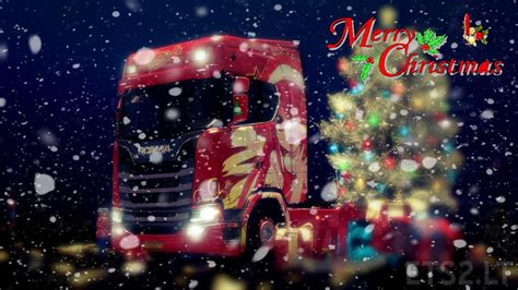 Scania S Series Merry Christmas Anime Skin  Ets 2 Mods