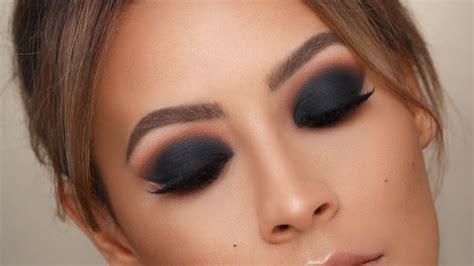 black smokey eye  tips  blending desi perkins