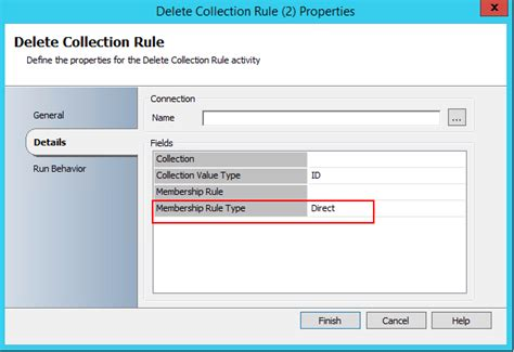 Orchestrator – Delete Collection Rule activity - Cloud for ...