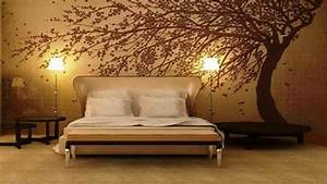 Wallpaper for bedroom wall, tree wall murals for homes ...