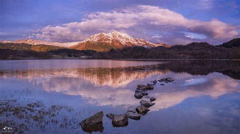 Sunrise Landscape Photography Scotland Ben Place Over Loch ...