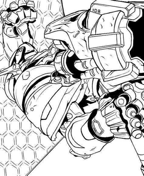 Kleurplaten Overwatch by N Overwatch 10