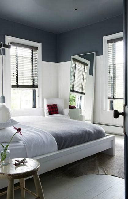 painting bedroom walls two different colors two color wall painting ideas for beautiful bedroom decorating 20752 | partially painted walls bedroom decorating ideas 4
